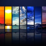 Wallpaper Spectrum of the Sky HDTV