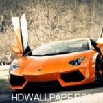 HD Super Lamborghini Aventador Car