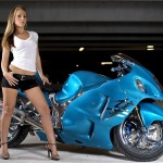 Bike Girl HD Wallpapers