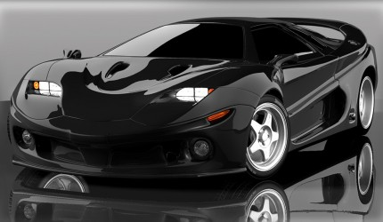 Car Wallpaper Black