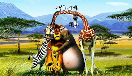 Download Madagascar 3D Wallpaper