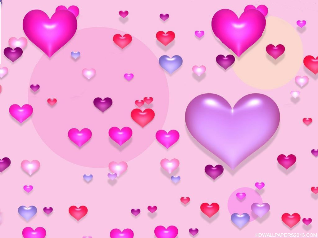 pink wallpaper valentines day hd high definition