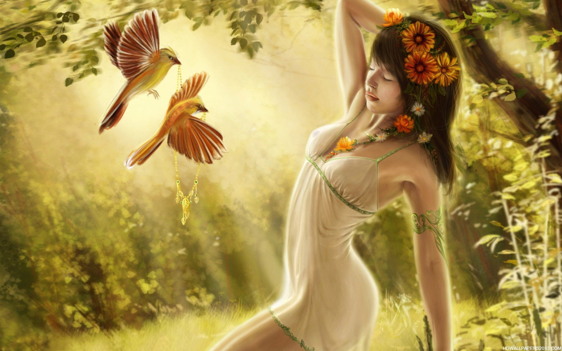 Sexy Fantasy Girl Wallpaper   High Definition Wallpapers ...