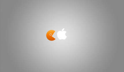 Apple Pacman Wallpaper