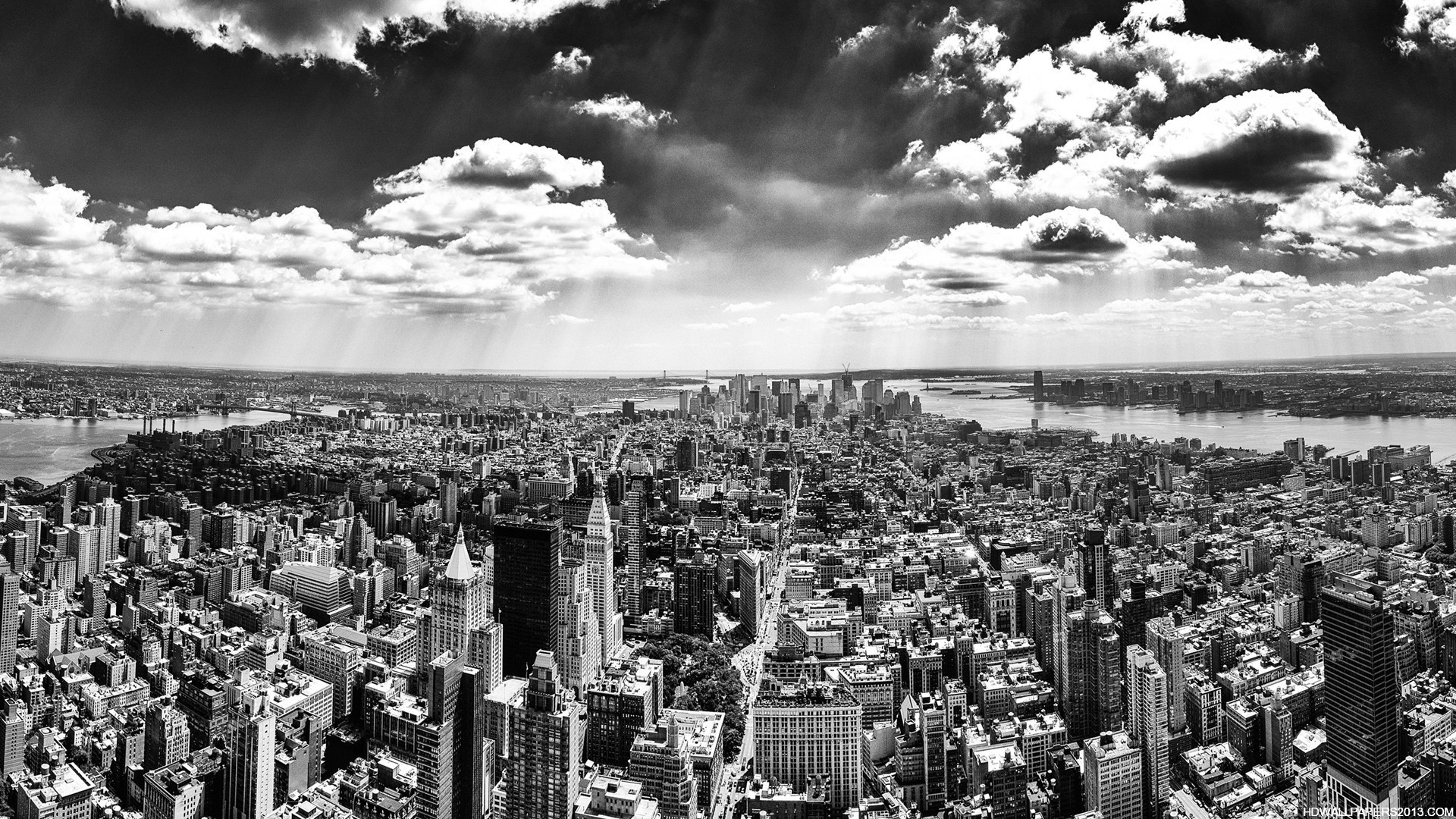 Black And White New York City Wallpaper High Definition Wallpapers