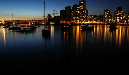 Docks at Night Wallpaper