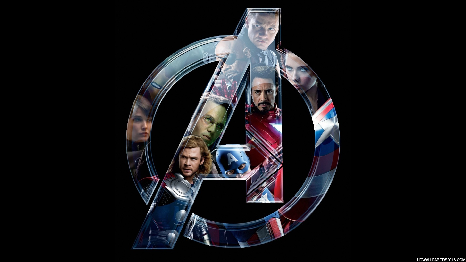 ... glimpses of all the characters from the avengers assemble film such as