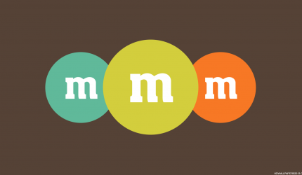 M&M Logo Wallpaper