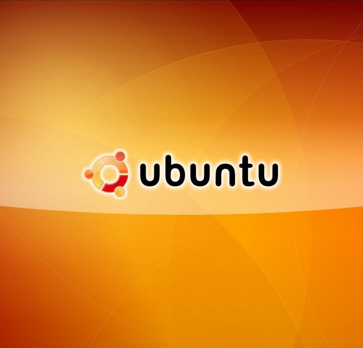 Orange Ubuntu Wallpaper