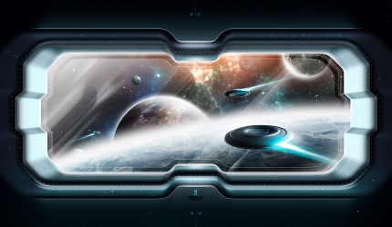 Space Scenery Wallpaper