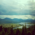 A beautiful image of Scottish hills wallpaper