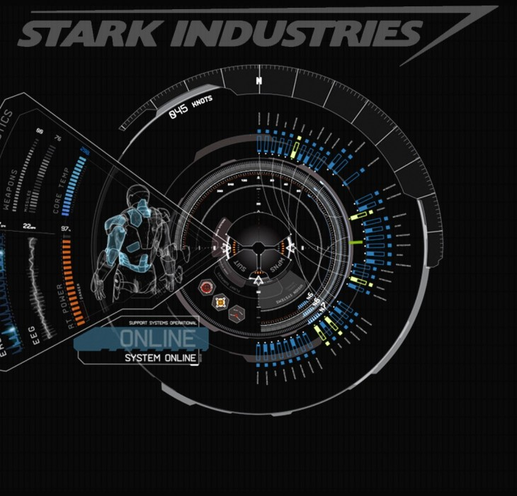Iron Man 3 technical drawing wallpaper