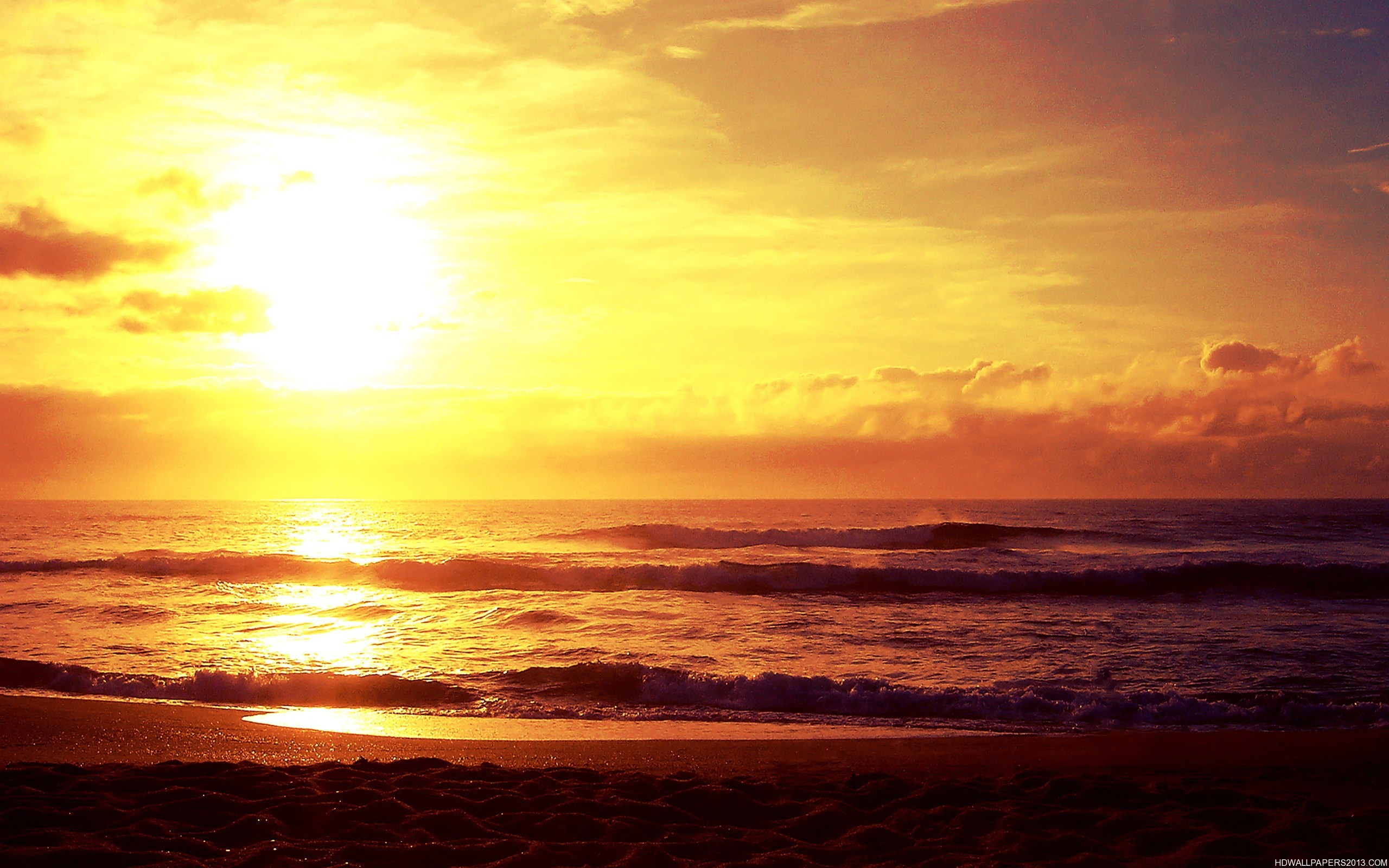 Download image Sunset Over Ocean PC, Android, iPhone and iPad ...
