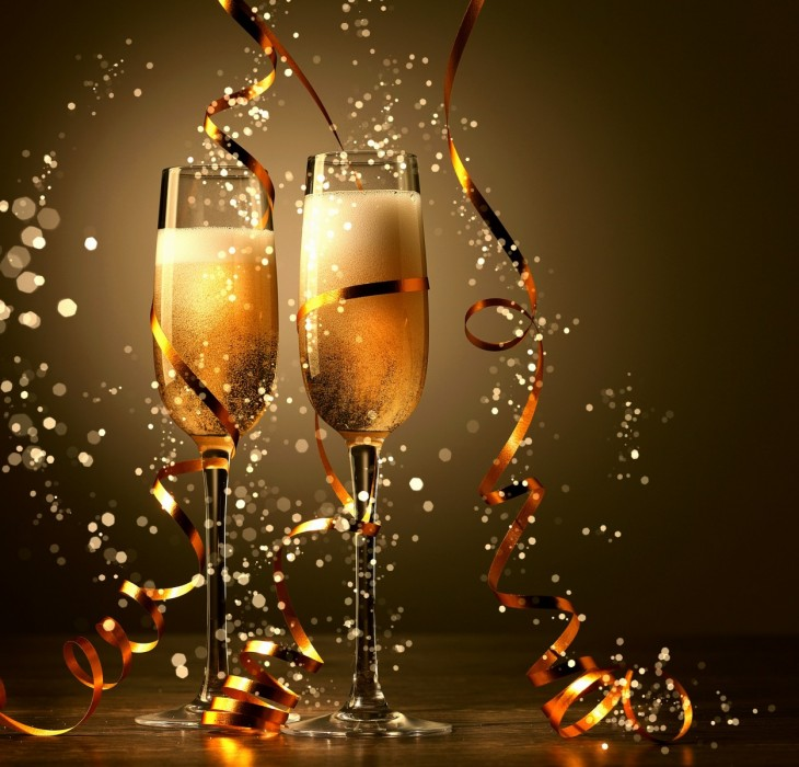 A Toast To The New Year