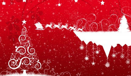 Christmas Sleigh Wallpaper