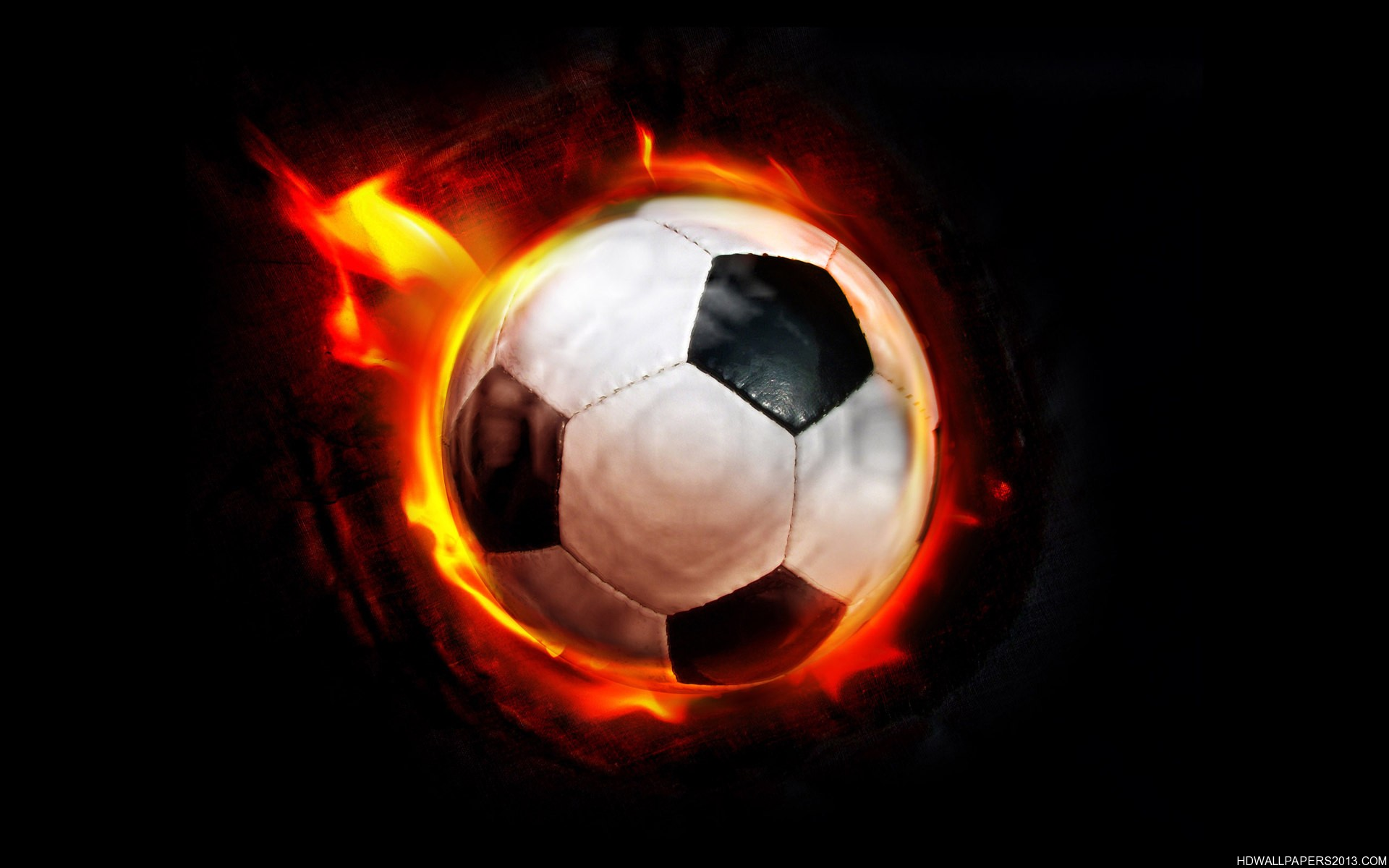 The Gallery For Flaming Football Background Images: High Definition Wallpapers, High