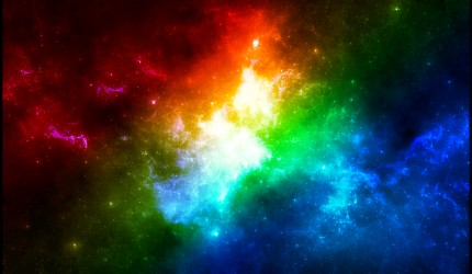 Cool Colors in Space