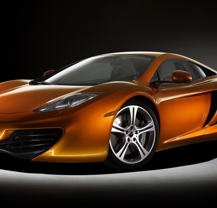 HD McLaren MP4-12C Wallpaper