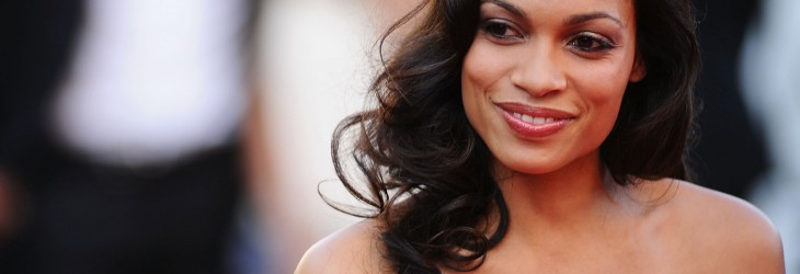 Red Dress Rosario Dawson