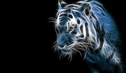 Special Effects HD Tiger Wallpaper