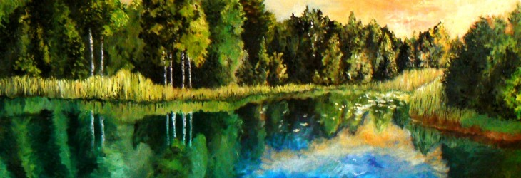 Beautiful Lake Painting