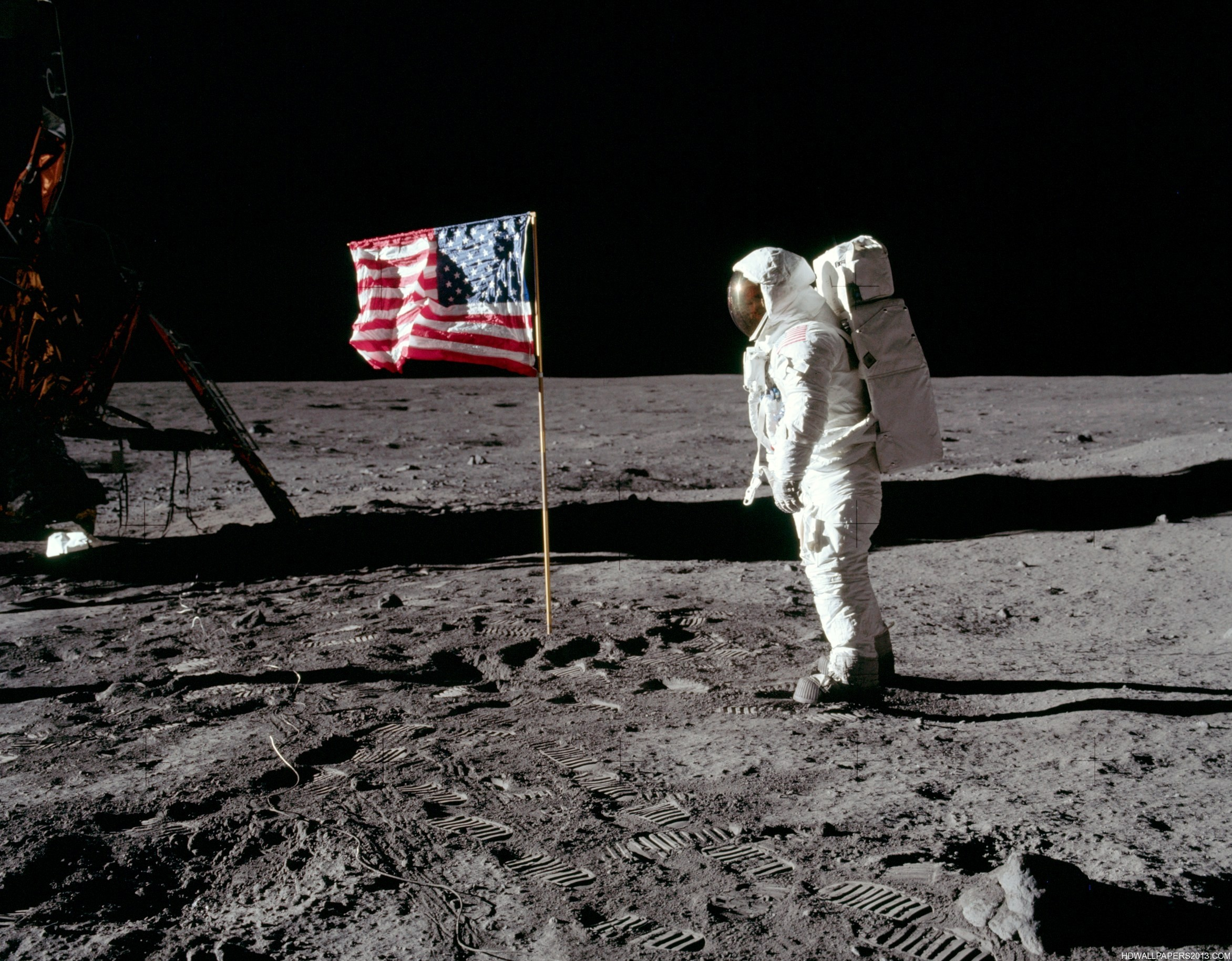 Man On The Moon High Definition Wallpapers High Definition