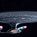 Enterprise at Warp
