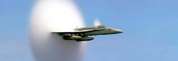 F-15 Sound Barrier