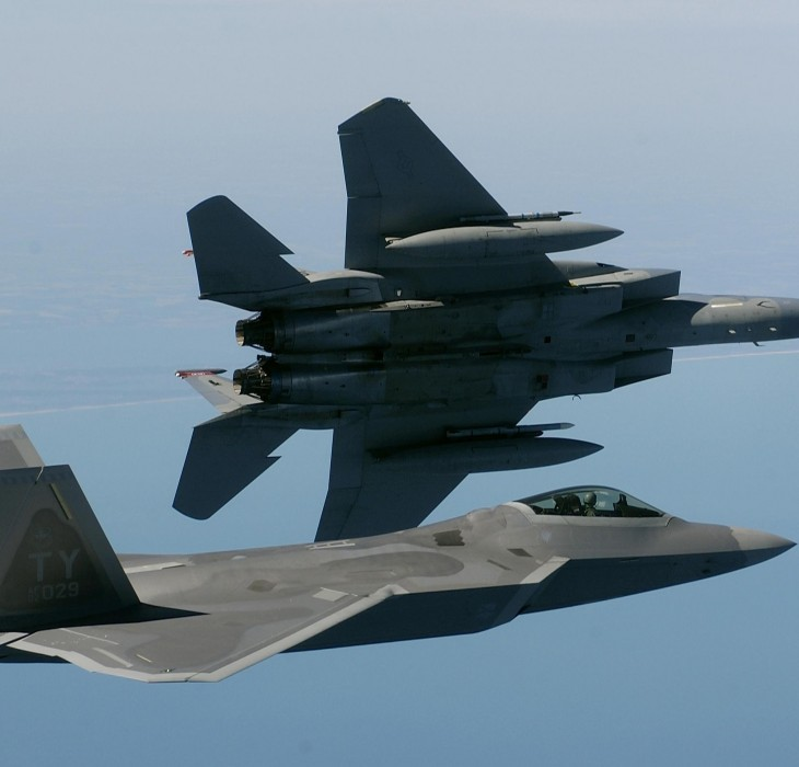 F-15 and F-22
