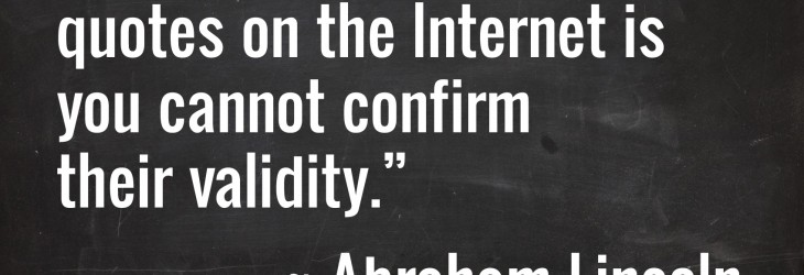 Quotes on the Internet