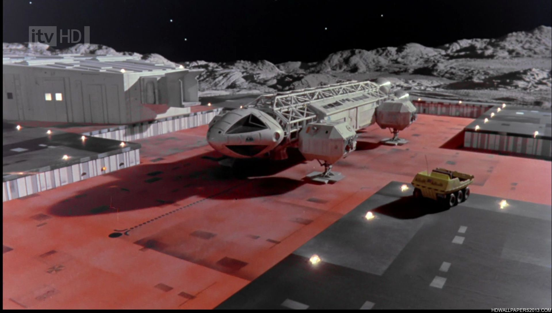 Space 1999 Eagle Wallpaper