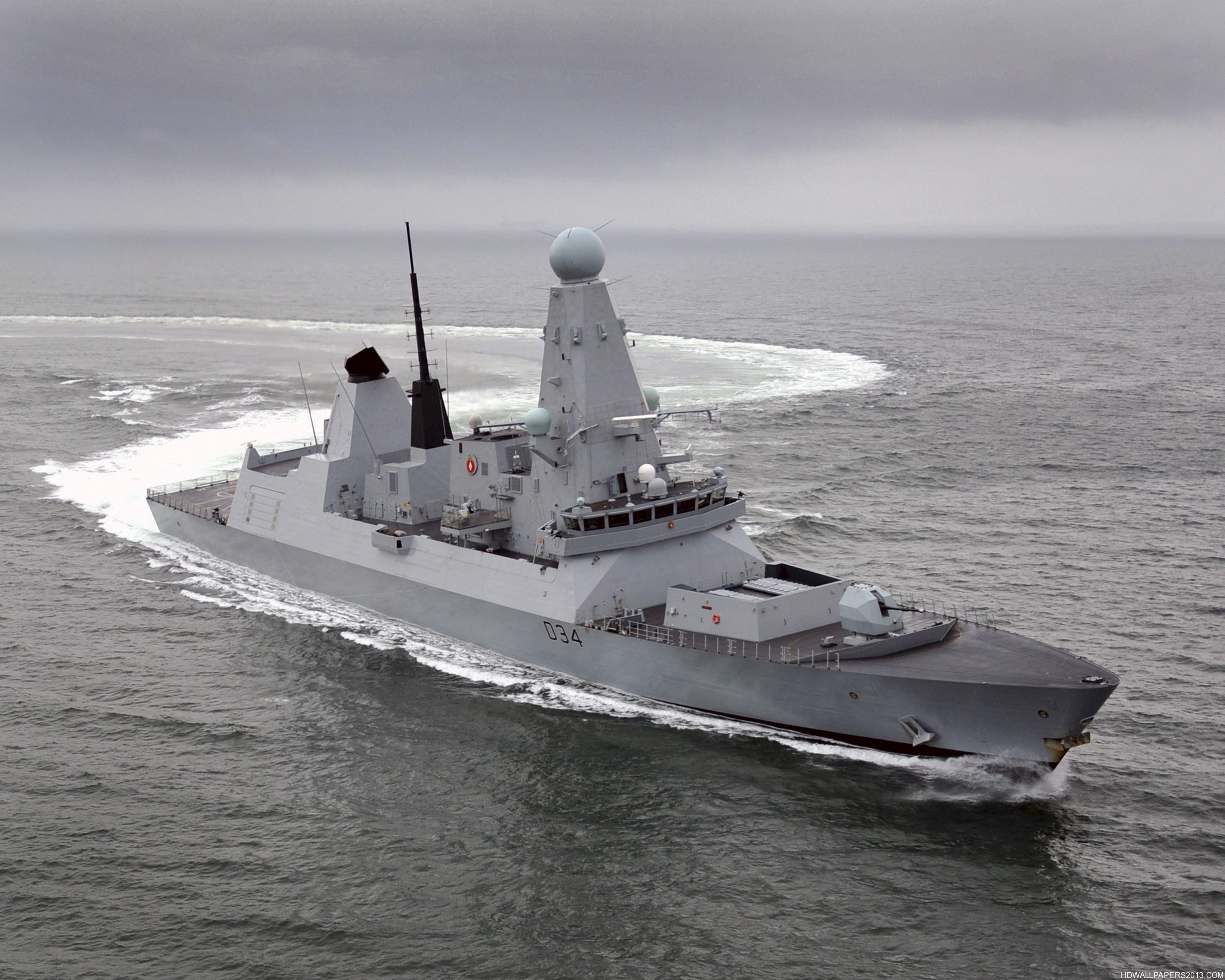 Royal Navy Type 45 Destroyer HMS Diamond