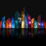 Awesome HD Abstract Spectrum of Light