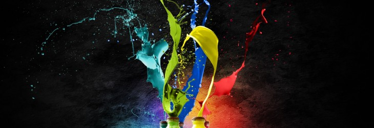 Exploding Jars of Paint
