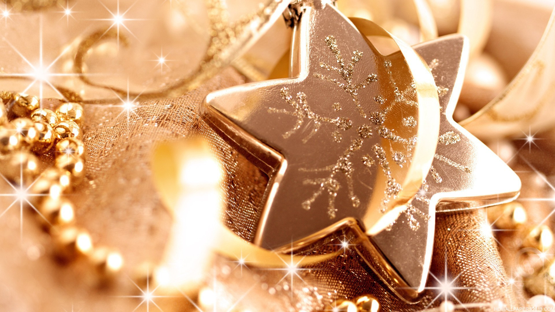 Merry Christmas Source Glittery Star High Definition Wallpapers