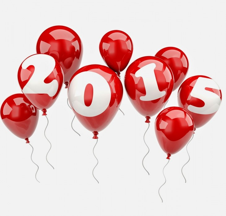 New Year Balloons