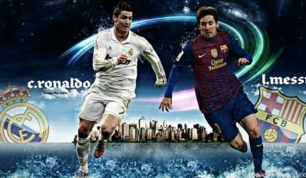 2012 Ronaldo vs Messi Wallpaper
