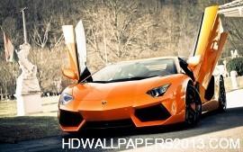 HD Super Lamborghini Aventador Car