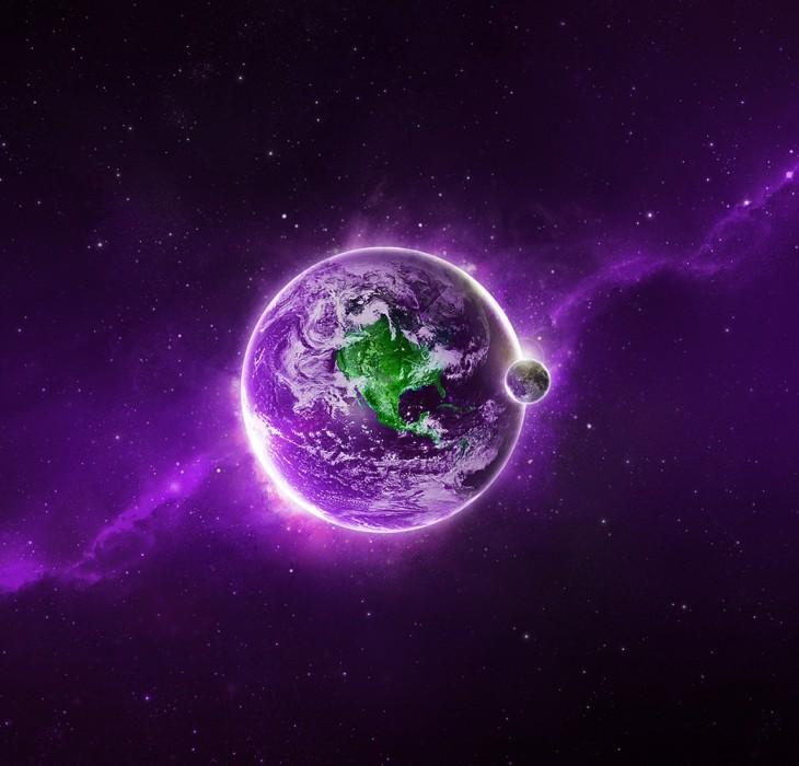 Purple Desktop Wallpaper