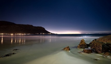 Beach at Night Wallpapers