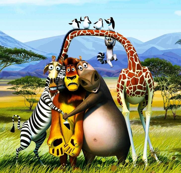Download Madagascar 3D Wallpaper