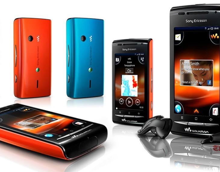 Download Sony Ericsson W8