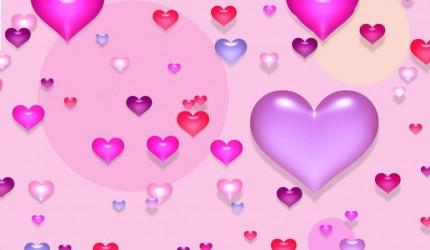 Pink Wallpaper Valentines Day HD