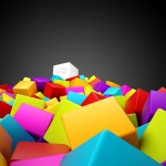 3D Colorful Wallpaper