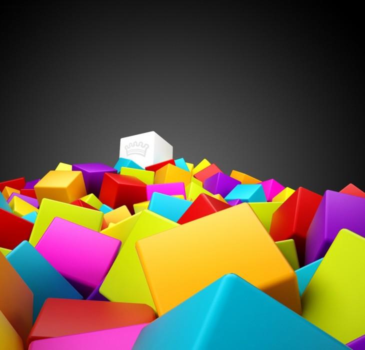 3D Colorful Wallpaper