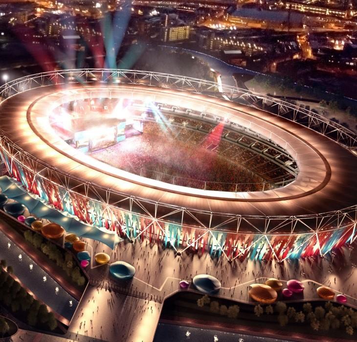 London Stadium Wallpaper