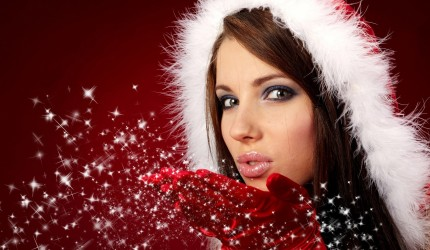 Christmas Girls Wallpaper