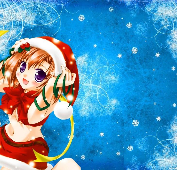 Christmass Wallpaper Anime