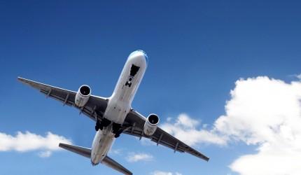 Passenger plane wallpaper