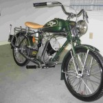 Whizzer motor bike